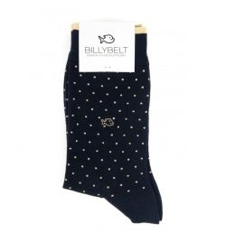 Chaussettes marine square - Billy Belt
