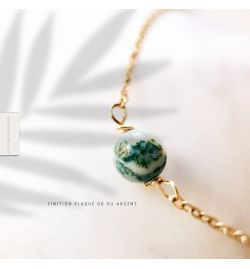 Bracelet Agate Arbre - Give me Happiness