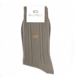 Chaussettes en laine kaki - Billy Belt