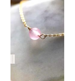 Bracelet Calcédoine rose - Give me Happiness