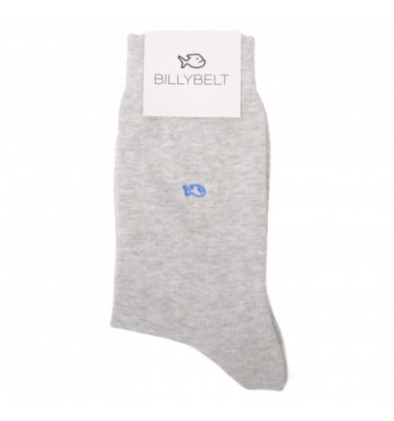 Chaussettes gris chiné - Billy Belt
