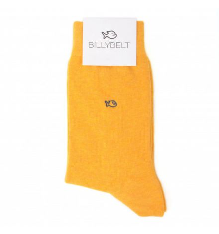 Chaussettes moutarde chiné - Billy Belt