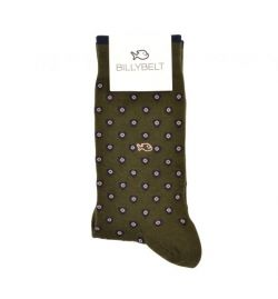 Chaussettes kaki patch - Billy Belt