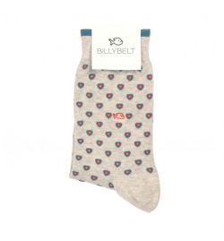 Chaussettes gris patch - Billy Belt
