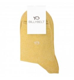 Chaussettes lurex Jaune - Billy Belt