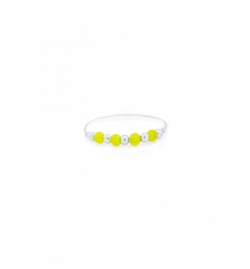Bague mini fruits d'or jaune/argent - YAY