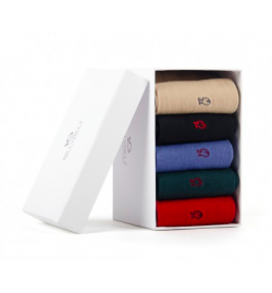 Coffret 5 chaussettes unies - Billy Belt