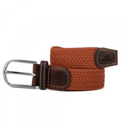 Ceinture tressée terracotta - Billy Belt