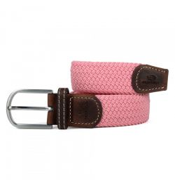 Ceinture tressée rose - Billy Belt